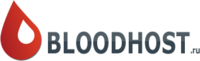 Логотип BloodHost